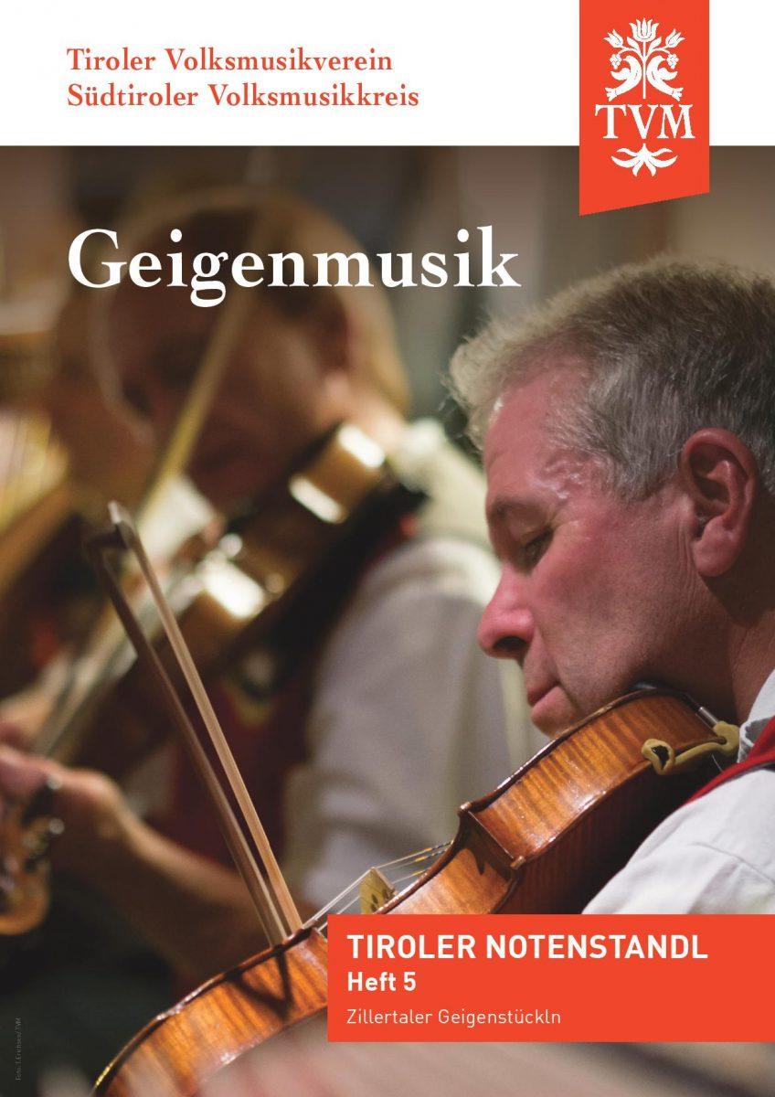 Heft 5, Zillertaler Geigenstückln