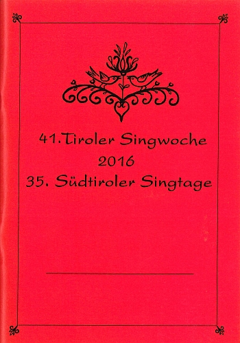 41. Tiroler Singwoche