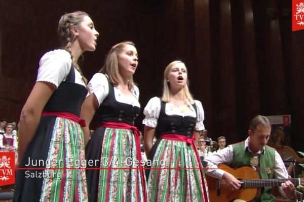 22. AVMW - Junger Egger 3/4-Gesang