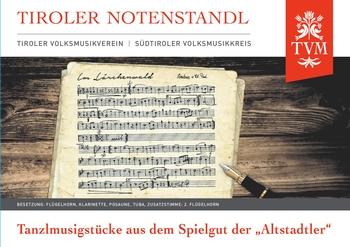 """Heft 26, Tanzlmusikstücker aus dem Spielgut der """"Altstadtler"""""""