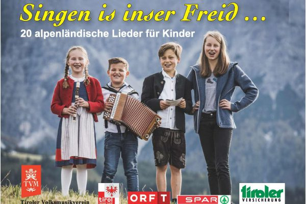 Cover KInderliederheft