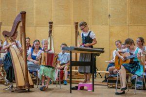 Musikgruppe Zoigal aus dem Tiroler Unterland